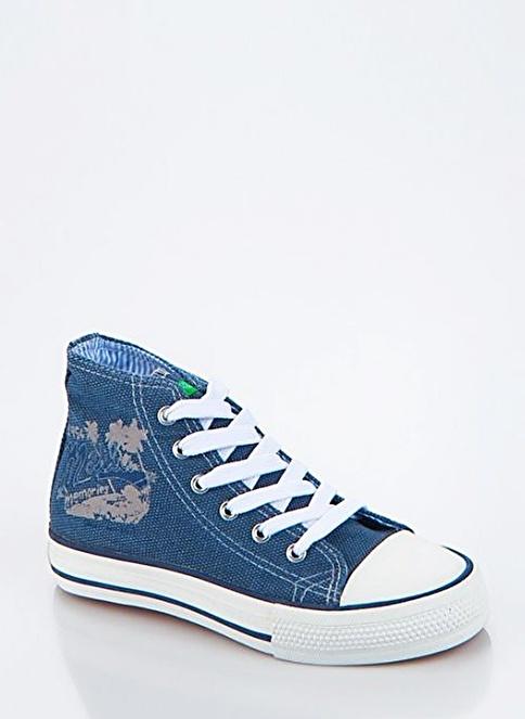 012 Benetton Ayakkabı Mavi